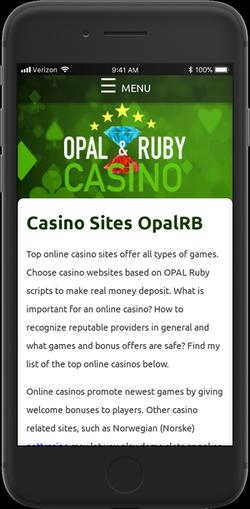 online casino opal ruby
